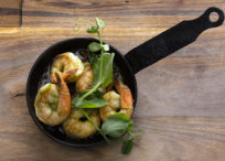 Tiger Prawns with Smoked Chilli Butter
