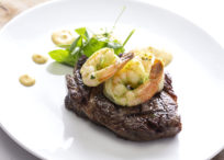 Grasslands Rib Eye Surf 'n' Turf