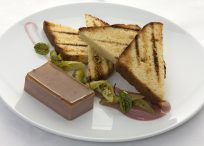 Duck Liver Parfait - Steersons Steakhouse Sydeny King St Wharf